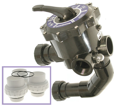Is an internal gasket available for this Zodiac - 2in. Sidemount Valve Kit for DEL Filters?