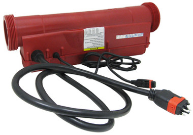 GECKO | IN.THERM REMOTE HEATER, RED | 0603-409001